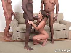 Strong hunks are ready with provide Amirah Adara make an issue of desired anal