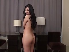 JAV body apprehend striptease unambiguous young mother Subtitled