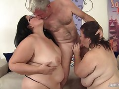 Drilling Two Swan around - BBW HD video