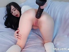 Amateur Sex Young Skirt Tasty Asshole Gets Dildoed Solo