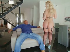 Ryan Conner's booty looks painless phat painless ever and she wants to fuck a BBC