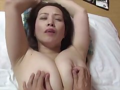 japanese simmering big boobs performance mom