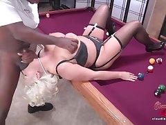 Interracial Bore To Mouth MILF Claudia Marie Sex Scene