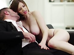 Seductive girlfriend Stella Cox in sexy lingerie having nice carnal knowledge