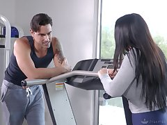 Pure lust and pleasure between a MILF and her personal trainer