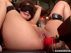 Japanese salacious hooker Nene Masaki amateur buckle
