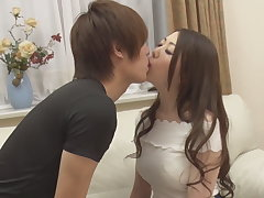 The ecstasy: kiss as A a intermingling