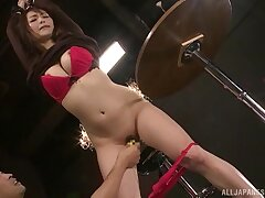 Kinky Asian girl Nanami Hirose loves being tied up and pleasured