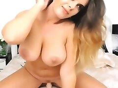 be in charge milf with glasses sucking together with fucking dildo