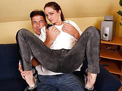 Horny German Housewife Fucking And Sucking Her Ass Off - MatureNL