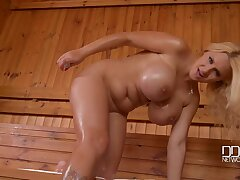 Dolly Fox - Big Juggs And A Gaping Pussy