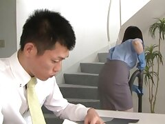 Glum office woman from Tokyo stops be worthwhile for a jot to fuck the new guy