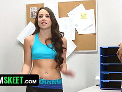 Horny Teen Simulated With Classmate's Balls