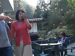 Outdoor Japanese fucking in public with a sweet follower groupie - HD