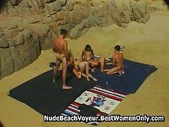 Output 90s Pornstar Stacy Valentine Bikini Beach
