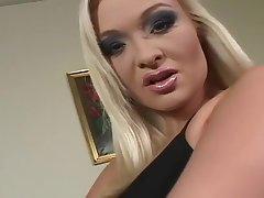 Star du porno chaude Barbara Realm of possibilities dans incroyable blonde, masturbation xxx clip